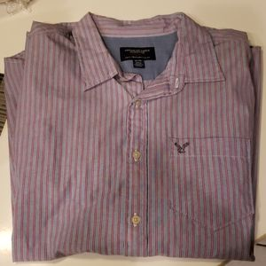 American Eagle Button-Down Long Sleeve Shirt